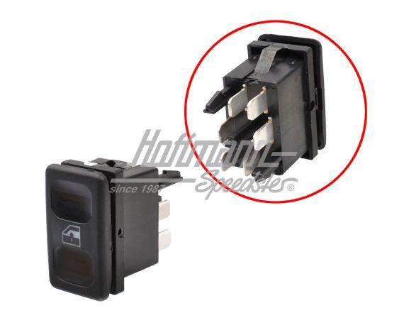 Schema Elettrico Alzacristalli : Interruttore datore clacson relè impianto elettrico golf 2