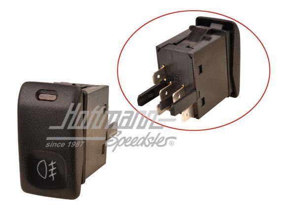 Schema Elettrico Per Fendinebbia : Interruttore datore clacson relè impianto elettrico golf